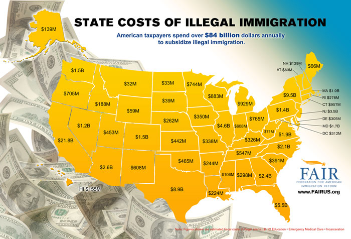 the issue and solution to massive illegal immigration in the united states Making and remaking america: immigration into the united  because of massive legal and illegal immigration  in the united states over immigration,.