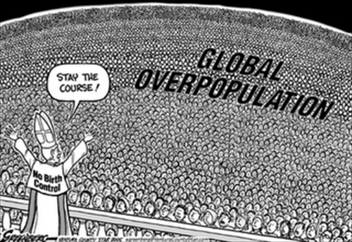 the growing concerns over global overpopulation relative to the depleting resources Overpopulation must be overpopulation relative to something, usually food, resources, and living space the data show that all three variables.